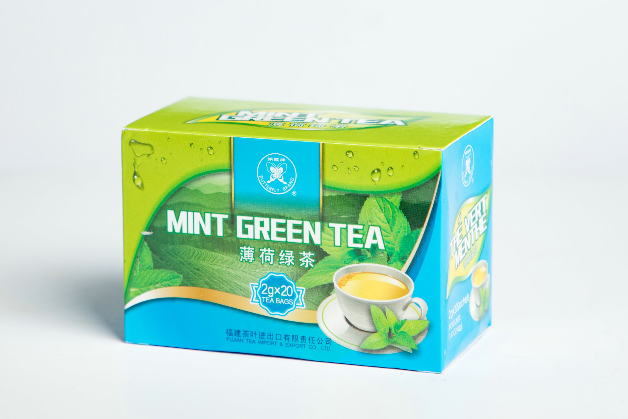 Green Mint Tea Bag#GT905 2GX20BAGS